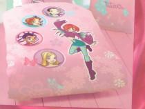 Lenjerii de pat pentru copii (Bambi, Batman, Witch, etc)