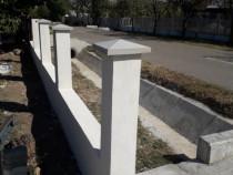 Capace stâlpi beton, pălării gard