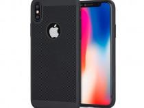 Husa telefon plastic apple iphone x iphone xs mesh blacknou