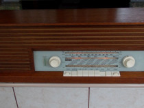 Radio WEGA type 219 stationar cu lampi,vintage 1962 Germany