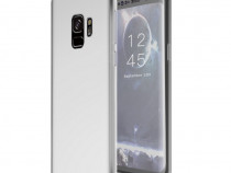 Samsung S9 S9 Plus Husa 360 Transparenta Fata Spate Silicon