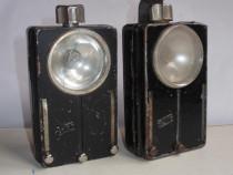 2 lanterne vechi semnalizare, pentru colecţionari