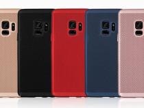 Samsung A8 2018 - Husa Ultra Slim Perforata Din Plastic Nea