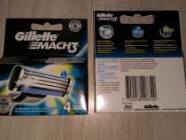 Gillette Mach 3 clasic și Start (set a 4,6,8,12,16 rezerve)