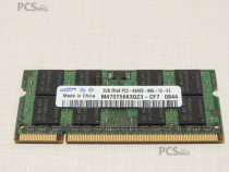 Memorie laptop 4GB(2*2GB) DDR2 800MHz PC2-6400 200+hard-uri