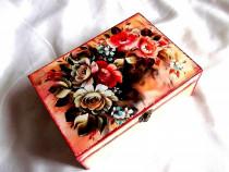 Cutie lemn decorata 33270