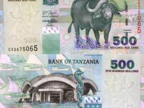 Lot 5 bancnote tanzania 2003-2010 - unc