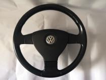 Volan Piele 3 Spite VW Tiguan Touran Airbag Cablaj Complet