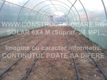 Kit solar pentru legume rasaduri sau flori – 6 x4 m