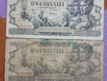 7 Bancnote 100 lei puse in circulatie in anul 1947