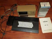 Pentru colectionari-Calculator Felix HC-91+casetofon+casete