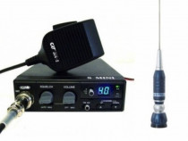 CRT S Mini Statie Radio CB + Sirio Turbo 2000 Antena CB Prin