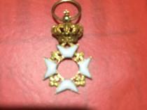 Ordin militar regal miniatura in aur