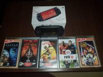 PSP + 5 jocuri