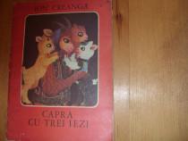 Capra cu trei iezi ( 1978, format mare, ilustrata, rara ) *