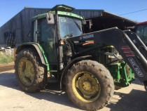 Tractor John Deere 6300, AC, 4x4, cu incacator. IMPORT 2019