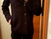 Geaca stil palton Zara la un pret imbatabil