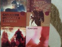 Curierul secret+Cavalerii ciclul-Ioan Dan (4 vol)