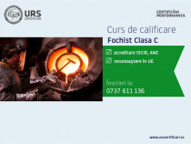Curs calificare Fochist Clasa C, județul Botoșani