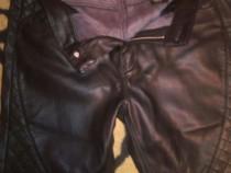 Pantaloni piele ecologica H&M,m 38,
