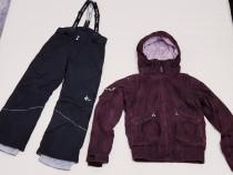 Costum iarnă, ski, geaca Burotti & pantaloni Cross mărimea S