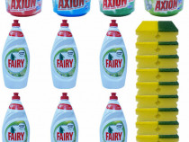 6x Fairy Sensitive + 4 x Axion + 10 x Bureti de vase, 2/set