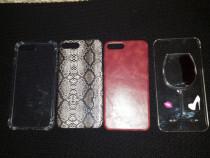 Husa iPhone 6 Plus 7 Plus 8Plus Piele Silicon Snake Print