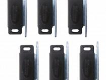 6 bucati, Magnet pentru profil - Plase insecte (Maro)