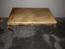 Masuta de salon din bronz masiv