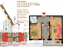 Apartament doua camere metrou Dimitrie Leonida bloc nou