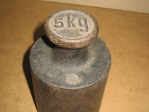 A251-Greutate 5 kg metal.