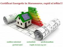 Certificat Energetic Baia Mare ieftin si rapid