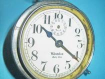 5371- Ceas masa mic de copii- WestClox Babe Ben USA metal.