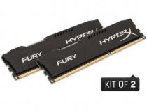 Kit 2*8 HyperX Fury Black 16GB DDR3 1866 MHz,sigilat