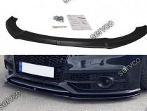 Prelungire splitter bara fata Audi A7 4G8 S-line 10-14 v1