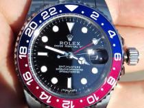 Ceas 40 mm Rolex GMT Master II Automatic geam & bezel Safir