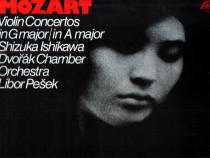 Mozart: Violin concertos, LP vinil Supraphon
