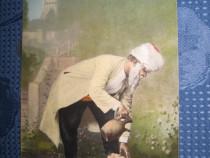 9993-WW1-Turc-Pregatirea pentru rugaciune stampila militara.