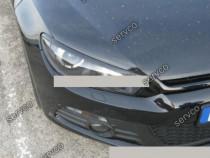Set pleoape ornamente ABS faruri VW Scirocco Mk3 08-17 v1