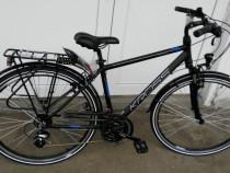 Bicicleta Cross Trans 2.0m Black Blue Silver Mat 2018