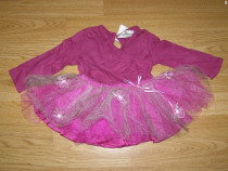 Costum carnaval serbare rochie dans balet 1-2 ani