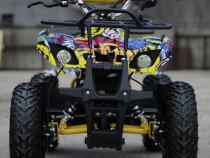 ATV electric pentru copii NITRO Torino 1000W 48V #Yellow