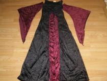 Costum carnaval serbare rochie medievala contesa adulti M