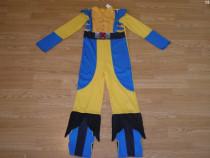 Costum carnaval serbare x-man wolverine 7-8 ani
