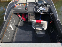 Barca pescuit spinning, Mercury 40HP, Motorguide pinpoint