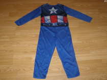 Costum carnaval serbare captain american 4-5 ani