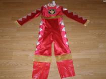 Costum carnaval serbare power rangers ninja 7-8-9-10 ani