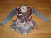 Costum carnaval serbare body dans gimnastica 9-10 ani