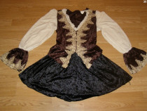 Costum carnaval serbare pirata cavalerita pentru adulti M-L