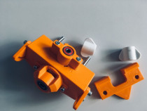 Sablon mobila din plastic dur portocaliu v.2 pt Rafix 20